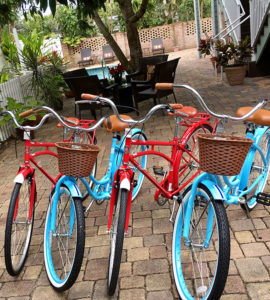 bikes to rent at SeaGlass Inn Bed and Breakfast