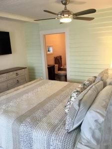 bedroom in the Turtle Nest room