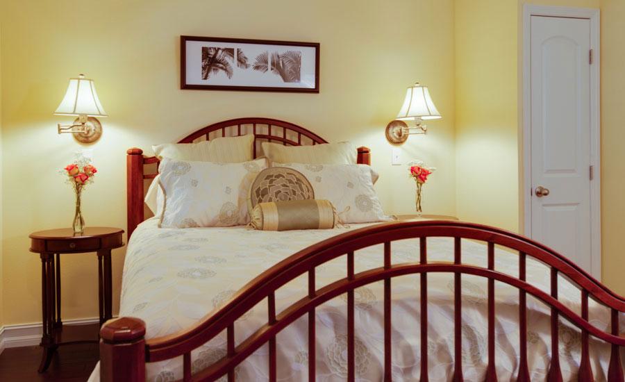 Yellow Hibiscus bedroom